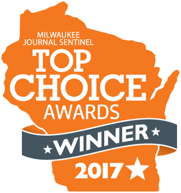 Milwaukee Journal Sentinel's Top Choice Winner of 2017 Award