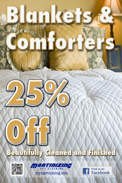 Blankets and Comforter Cleaning Specials Milwaukee